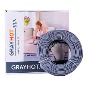Нагревательный кабель Gray Hot cable 150 (186 Вт) (1,6 м.кв.)