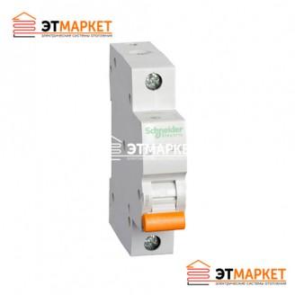 Автоматический выключатель Schneider-Electric Домовой ВА63 1P 10A C
