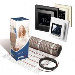 Теплый пол DEVI комплект с программируемым терморегулятором