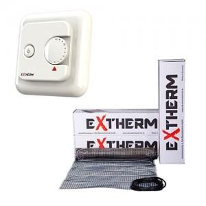 Теплый пол Exterm ETL  комплект с механическим терморегулятором