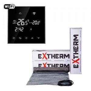 Теплый пол Exterm ETL комплект с программируемым терморегулятором