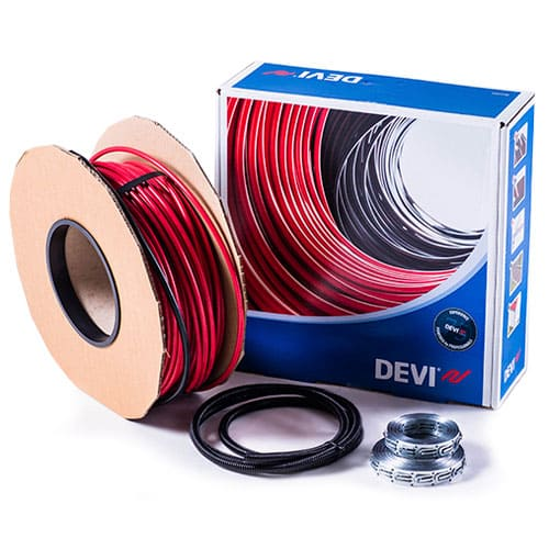 Тонкий нагревательный кабель DEVIflex 10T (1800 Вт)