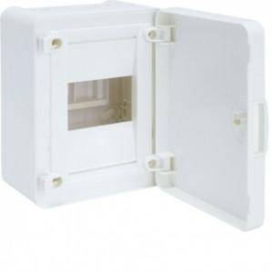 Щит распределительный GOLF VS104PD на 4 модуля, белая дверца