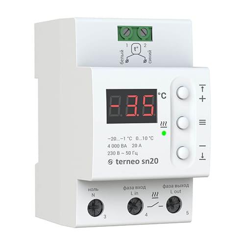 Терморегулятор Terneo sn20