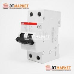 Автоматический выключатель ABB SH202-C6, 2 п., 6А, C