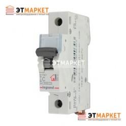Автоматический выключатель Legrand TX³ 63A, C, 6 kA, 1 п.