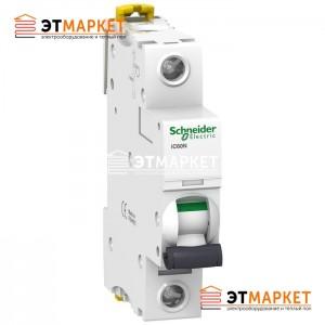 Автоматический выключатель Schneider Electric iC60N, 1P, 6A, B