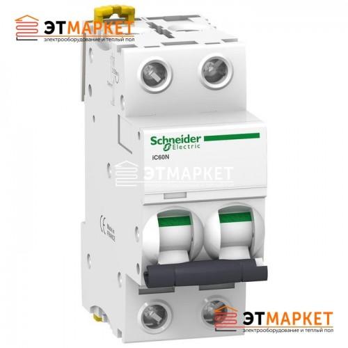 Автоматический выключатель Schneider Electric iC60N, 2P, 40A, B