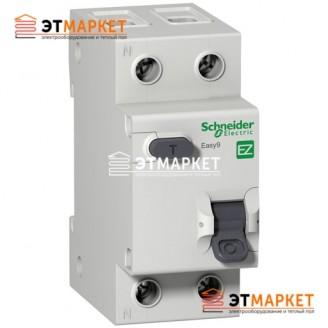 Дифавтомат Schneider Electric Easy9 1Р+N, 32А, 30 мА, АС