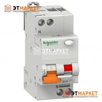 Диффавтомат Schneider Electric АД63 25А, 30 mA, 2 п.