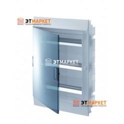Щит ABB Mistral41F 48 м., IP41, прозрачные двери, клеммник, встраиваемый