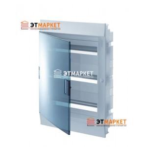 Щит ABB Mistral41F 850 54 м., IP41, прозрачные двери, встраиваемый