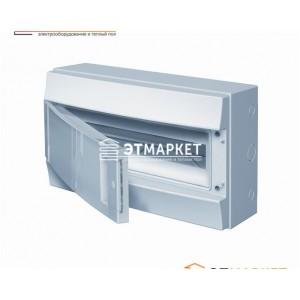 Щит ABB Mistral65 18 м., IP65 , не прозрачные двери, навесной