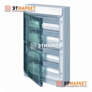 Щит ABB Mistral65 750 72 м., IP65 , прозрачные двери, навесной
