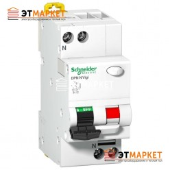АВДТ Schneider Electric iDPN N Vigi 6A, C, 1P+N, 6 kA, 30 mA, AC