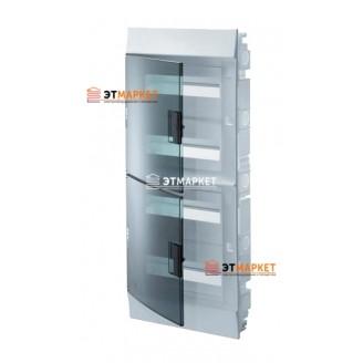 Щит ABB Mistral41F 54 м., IP41, прозрачные двери, клеммник, встраиваемый