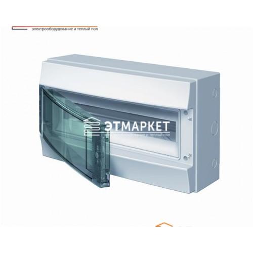 Щит ABB Mistral65 18 м., IP65 , прозрачные двери, навесной