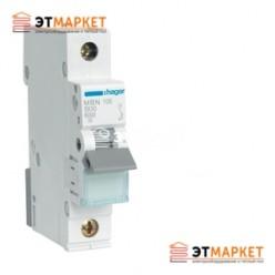 Автоматический выключатель Hager MC110A 10А, 1п, С, 6kA