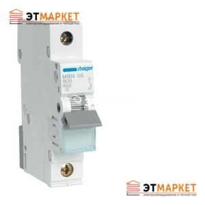 Автоматический выключатель Hager MC120A 20А, 1п, С, 6kA