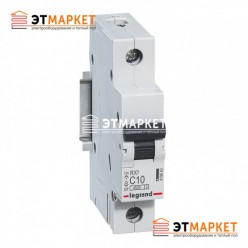 Автоматический выключатель Legrand RX³ 40А, 1 п., 4,5 kA