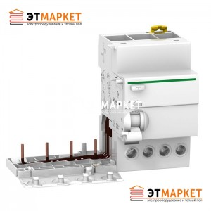 Дифференциальный блок Schneider Electric VIGI iC60 4P, 25A, 30 mA, A