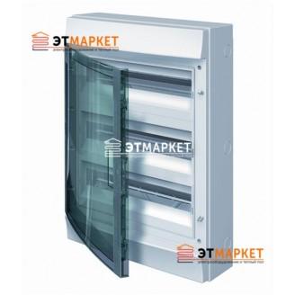 Щит ABB Mistral65 750 54 м., IP65 , прозрачные двери, навесной
