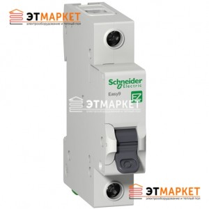 Автомат Schneider Electric Easy9 1 п., 6А, С
