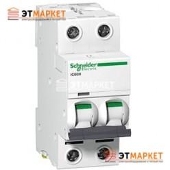 Автоматический выключатель Schneider Electric iK60 2P, 50A, C