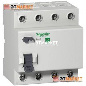Дифреле Schneider Electric EZ9 4Р, 40А, 30 мА, АС