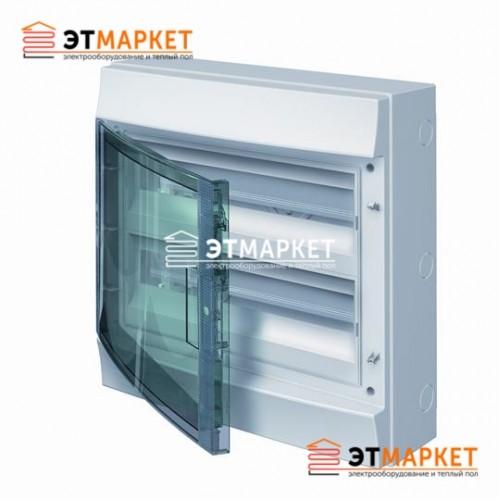 Щит ABB Mistral65 36 м. (18x2), IP65 , прозрачные двери, навесной