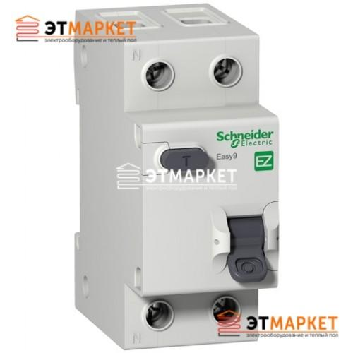 Дифавтомат Schneider Electric Easy9 1Р+N, 25А, 30 мА, АС