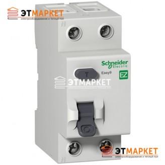 Дифреле Schneider Electric EZ9 2Р, 25А, 10 мА, АС