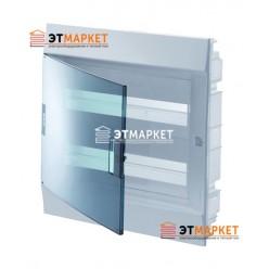 Щит ABB Mistral41F 24 м., IP41, прозрачные двери, клеммник, встраиваемый