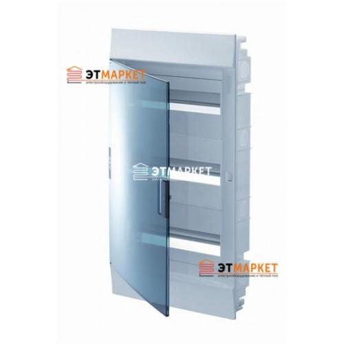 Щит ABB Mistral41F 36 м. (12x3), IP41, прозрачные двери, встраиваемый