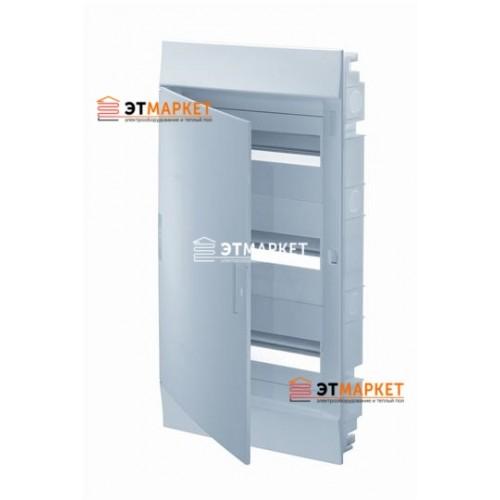 Щит ABB Mistral41F 850 36 м. (12x3), IP41, не прозрачные двери, встраиваемый