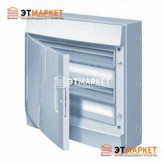Щит ABB Mistral65 36 м. (18x2), IP65 , не прозрачные двери, навесной