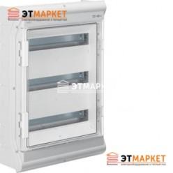 Щит Hager Vector накладной, прозрачная дверца, 54 (60) м., IP65