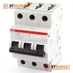 Автоматический выключатель ABB S203-B16