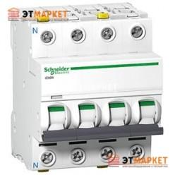Автоматический выключатель Schneider Electric iK60 4P, 10A, C
