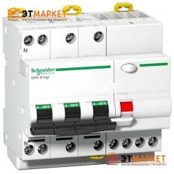 АВДТ Schneider Electric iDPN N Vigi 10A, C, 3P+N, 6 kA, 30 mA, Si