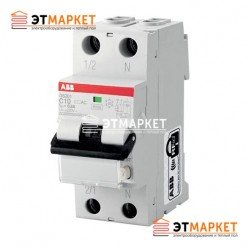 Диффавтомат ABB DS201 C16 AC30