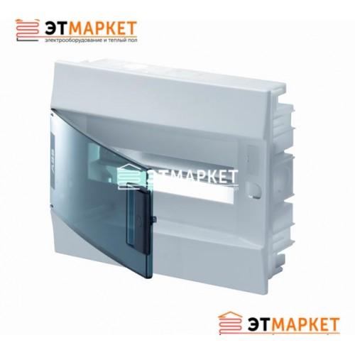 Щит ABB Mistral41F 850 12 м., IP41, прозрачные двери, встраиваемый