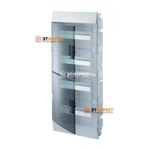 Щит ABB Mistral41F 850 48 м., IP41, прозрачные двери, встраиваемый