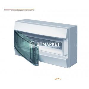 Щит ABB Mistral65 18 м., IP65, прозрачные двери, клеммник, навесной