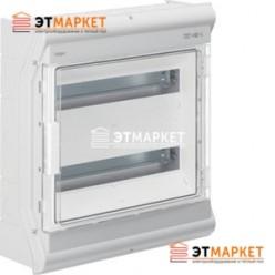 Щит Hager Vector накладной, прозрачная дверца, 36 (40) м., IP65