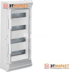 Щит Hager Vector накладной, прозрачная дверца, 48 (56) м., IP65