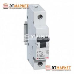 Автоматический выключатель Legrand RX³ 10А, 1 п., 4,5 kA