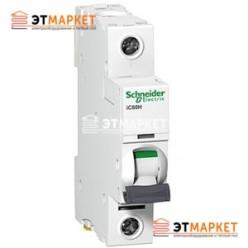 Автоматический выключатель Schneider Electric iK60 1P, 63A, C