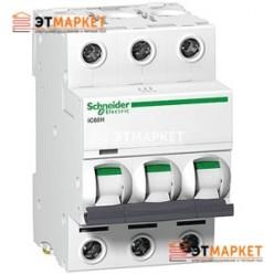 Автоматический выключатель Schneider Electric iK60 3P, 50A, C