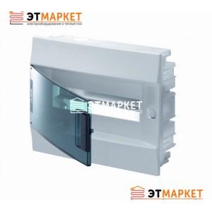 Щит ABB Mistral41F 12 м., IP41, прозрачные двери, встраиваемый